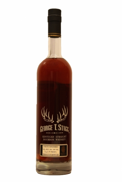 George T. Stagg Limited Edition Barrel Proof Kentucky Straight Bourbon Whiskey Uncut_ Unfiltered