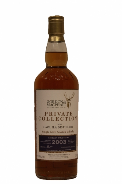 Caol Ila 12 Year Old 2003 Sassicaia Wood Finish - Private Collection Gordon & MacPhail