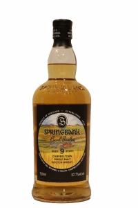 Springbank 9 Years Old Local Barley 57.7 Proof