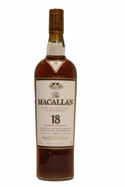 Macallan 18 Year Old Sherry Oak 1995