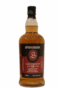 Springbank 12 Years Old Cask Strength  56.2 Proof