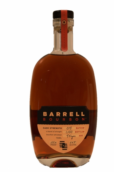 Barrell Bourbon 9 Year Old Batch 19 Cask Strength  109.4 Proof