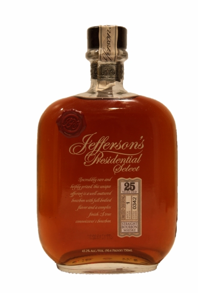 Jefferson's Presidential Select 25 Year Old Batch No.1