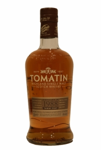 Tomatin Tawny Port Distilled 1988 27 Year Old