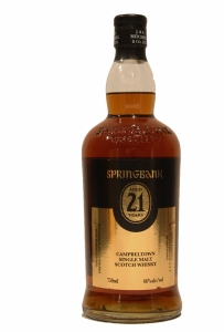 Springbank 21 Years Old 2018