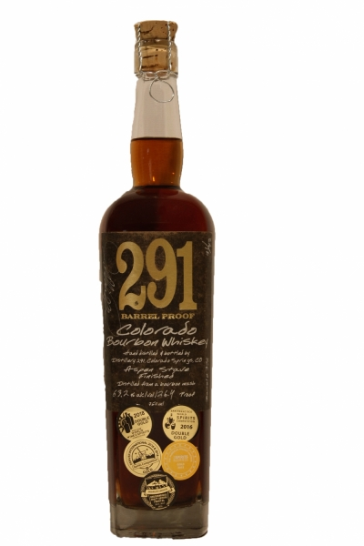 291 Colorado Barrel Proof Bourbon Whiskey