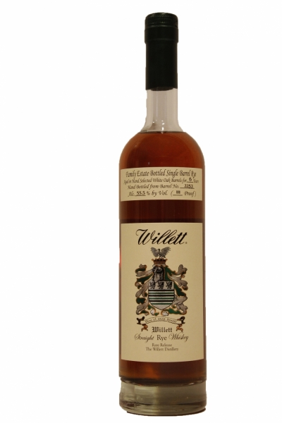 Willett 6 Year Old Single Barrel Rye 111 Proof