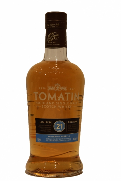 Tomatin 21 Years Old Limited Edition