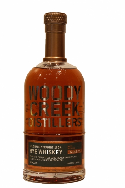 Woody Creek Straight Rye Whiskey