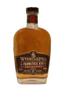 Whistle Pig Straight Rye Crop No.2 Farm Stock Bottled in Barn