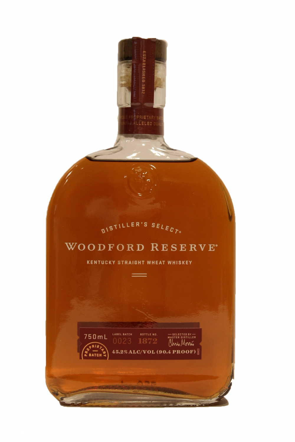 This is a picture of Candid Woodford Reserve Personalized Label Program
