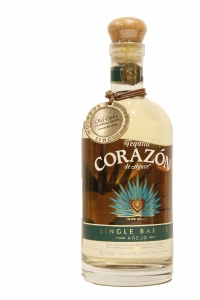 Corazon Single Barrel Anejo W.L. Weller Bourboun Casks Bottled for Oaksliquors