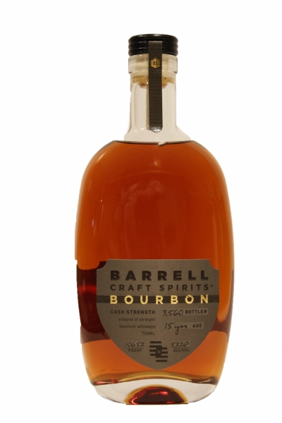 Barrell Bourbon Cask Strength 15 Years Old 53.26 Proof