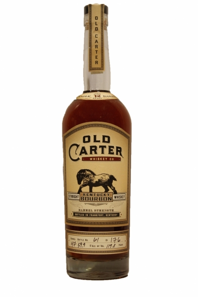 Old Carter 12 Years Old Borbon Barrel 47