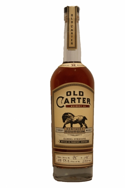 Old Carter 12 Years Old Bourbon Barrel 43