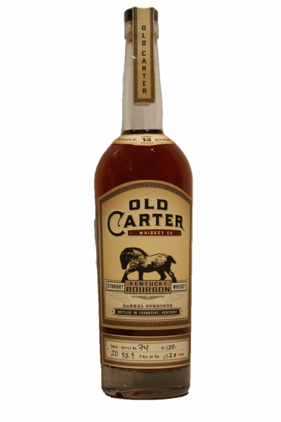 Old Carter 12 Years Old  Bourbon Barrel 20