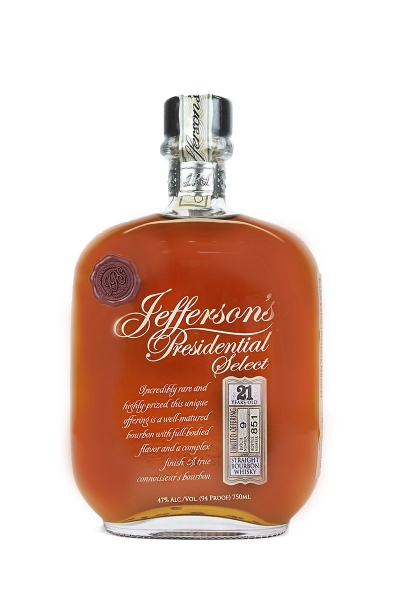 Jefferson's Presidential Select 21 Year Old Batch No. 9