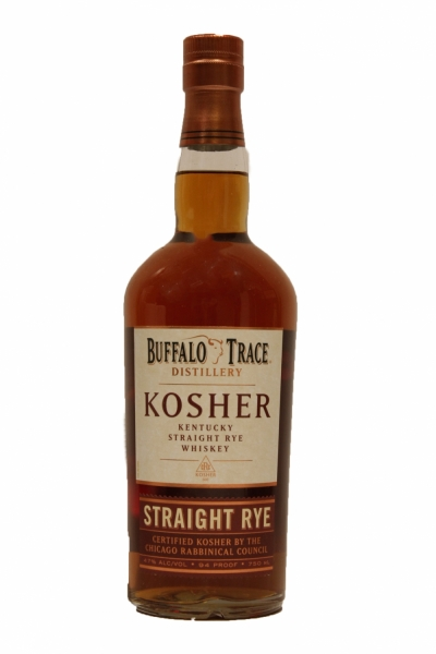 Buffalo Trace Kosher Straight Rye Bourbon