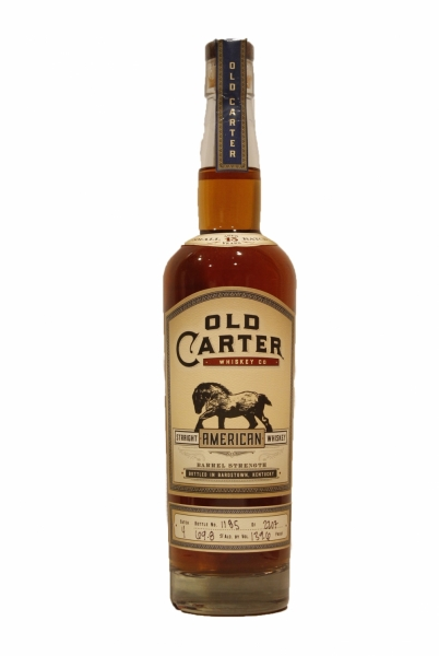 Old Carter Barrel Strength Bourbon Whiskey Batch 4