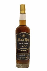Bank Note 25 Year Old Blended Scotch Whisky