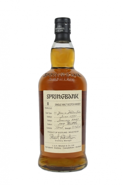 Springbank 11 Year Old Wood Expression Madeira