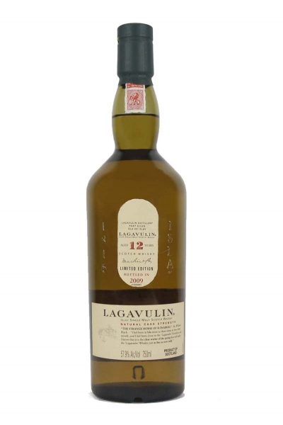 Lagavulin 12 Year Old Natural Cask Strength (2012) Release