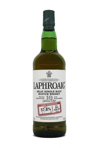 Laphroaig 10 Year Old Cask Strength 57.8%