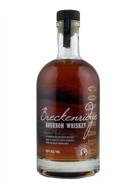 Breckenridge Bourbon Whiskey Special Release