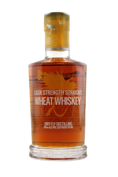 Dry Fly Cask Strength Wheat Whiskey 375ML