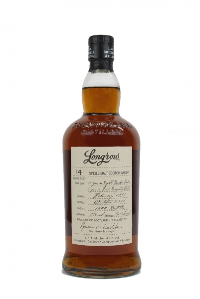 Longrow 14 Year Old Burgundy Wood Expression 1997