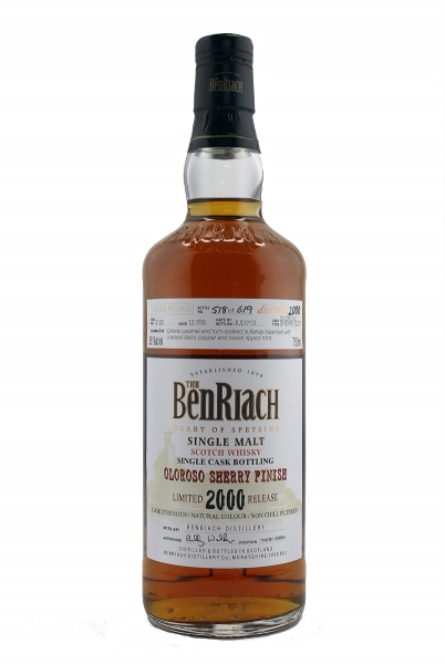 Benriach 12 Year Old Oloroso Sherry 2000