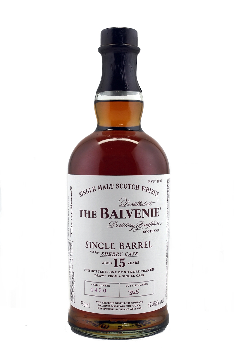 Balvenie single barrel sherry review