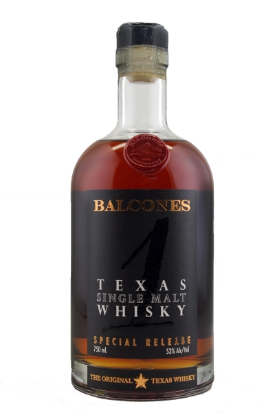 Balcones Texas Single Malt Whisky Special Reserve