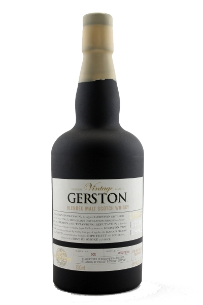 The Lost Distillery Gerston Vintage Blended Malt Scotch Whisky