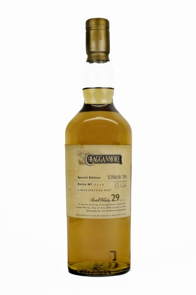 Cragganmore 29 Year Old