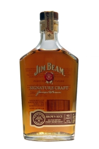 Jim Beam Signature Craft Harvest Bourbon Collection Brown Rice 11 Year Old (375ML)