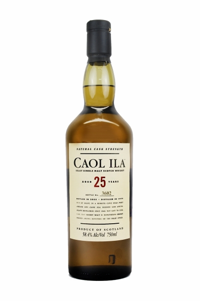 Caol Ila 25 Year Old Cask Strength 2005